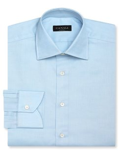 Canali - Solid Dress Shirt