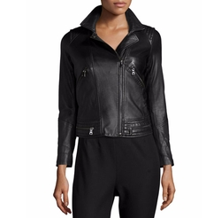 Rebecca Taylor  - Leather Motorcycle Jacket