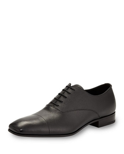 Prada - Saffiano Leather Oxford Shoes