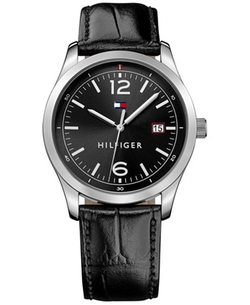 Tommy Hilfiger - Leather Strap Watch