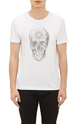 Alexander Mcqueen  - Crystal Skull T-Shirt