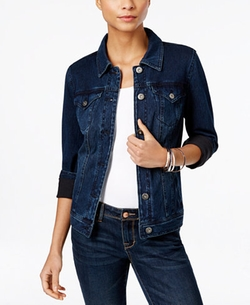 Style & Co.  - Dark Wash Denim Jacket