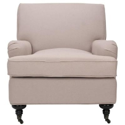 Safavieh - Chloe Linen Club Chair