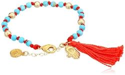 Blee Inara - Handcrafted 18k Gold Plated Adjustable Bracelet