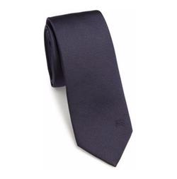 Burberry - Solid Silk Tie