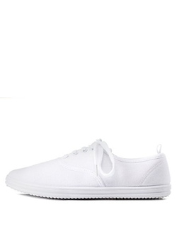 Charlotte Russe - Low-Top Canvas Sneakers