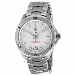 Tag Heuer  - Link Lucerne Silver Dial Stainless Steel Mens Watch