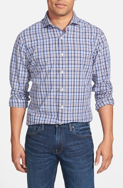 New England Shirt Co. - Regular Fit Plaid Sport Shirt