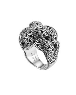 John Hardy - Classic Chain Silver Braided Ring