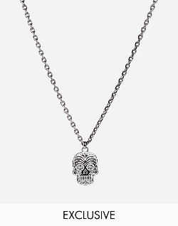 Simon Carter  - Sugar Skull Necklace