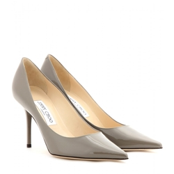 Jimmy Choo - Agnes Patent-Leather Pumps