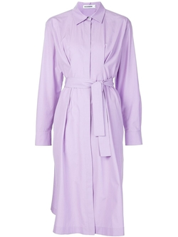 Jil Sander   - Belted Shirt Dress