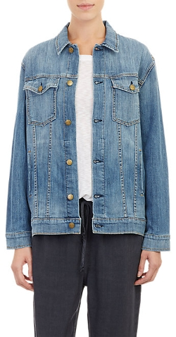 Current/Elliott - Oversized Trucker Denim Jacket