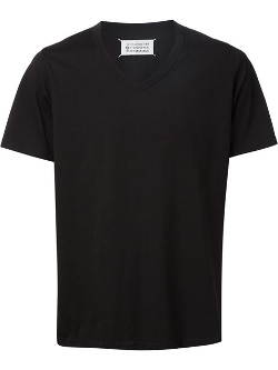 Maison Margiela - V-Neck T-Shirt