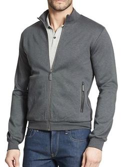Dolce & Gabbana  - Full-Zip Cotton Track Jacket