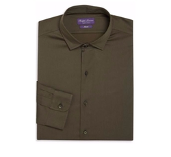 Ralph Lauren  - Regular-Fit Amalfi Solid Dress Shirt