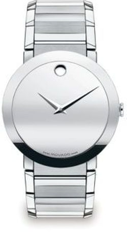 Movado - Sapphire Stainless Steel Watch