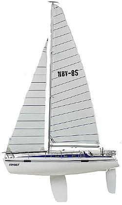 Thunder Tiger - Odyssey II Remote Control Racing Yacht Sailboat Kit