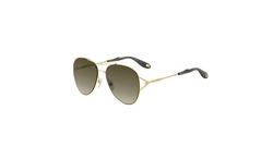 Givenchy - Metal Aviator Sunglasses