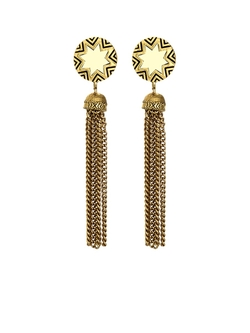 House of Harlow 1960 - Sunburst Tassel Earrings