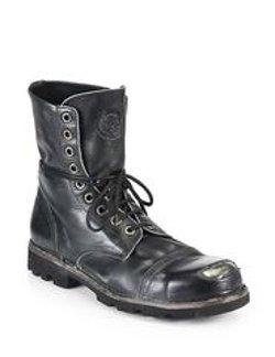 Diesel - Hardkor Steel Lace-Up Boots