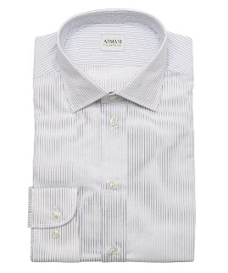 Armani - Pinstriped Cotton Dress Shirt