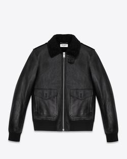 Saint Laurent - Classic Flight Leather Jacket