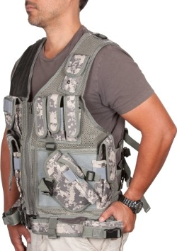Modern Warrior  - Digital Camo Tactical Hunting Vest