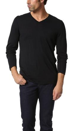 John Varvatos Star USA  - V Neck Sweater
