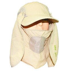 Qing Outdoor - Sun Protection Flap Hat