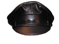 Mr-S-Leather - Leather Biker Cap