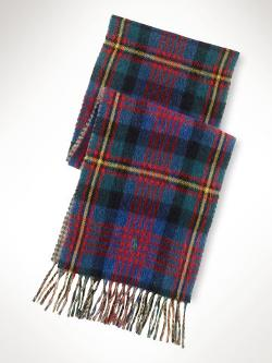Polo Ralph Lauren - Double-Faced Wool-Blend Scarf