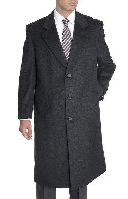 GG&G  - Wool Blend Full Length Overcoat