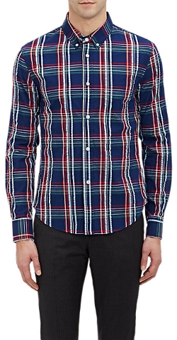 Band of Outsiders - Madras Plaid Shirt