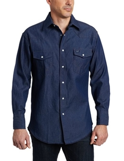 Wrangler  - Authentic Cowboy Cut Work Long Sleeve Shirt