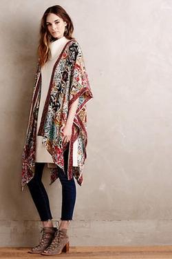 Anthropologie - Silk Kathmandu Kimono