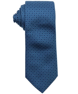 Armani - Geometric Square Pattern Silk Tie