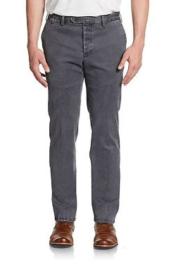West Point  - Dyed Slim Cotton Chino Pants