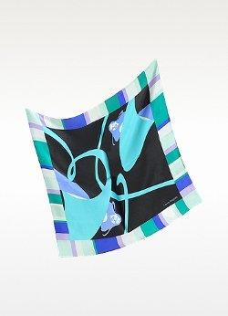 Laura Biagiotti  - Print Twill Silk Bandana