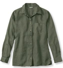 L.L.Bean - Premium Washable Linen, Big Shirt