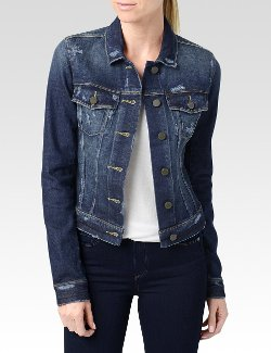 Paige - Madigan Destructed Vermont Jacket