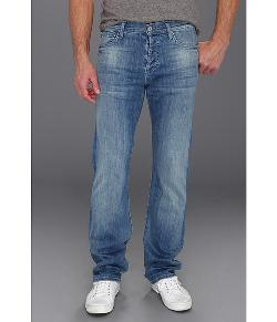 7 For All Mankind  - Standard Straight Leg in Washed Out