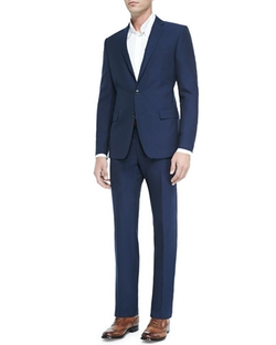 Versace Collection - Textured Wool Two-Button Suit