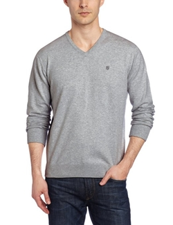 Victorinox - Long Sleeve V-Neck Jersey Sweater
