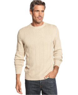 John Ashford Sweater - Ribbed Cotton Sweater