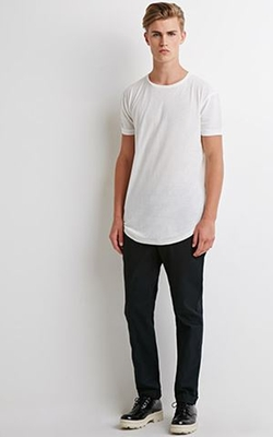 Forever 21 - Slim Cotton Chino Pants