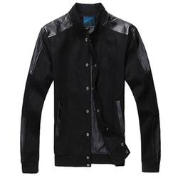 Najia Symbol - Leather Bomber Jacket
