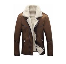 Jinmen  - Real Suede Fur Coat Jacket