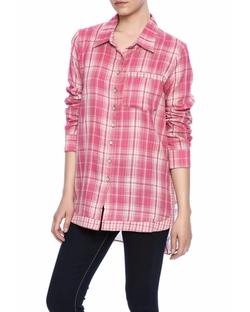 Aratta - Plaid Print Shirt