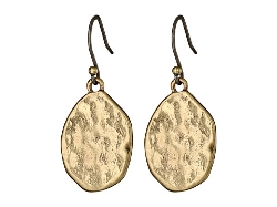Lucky Brand - Gold Organic Drop Earrings